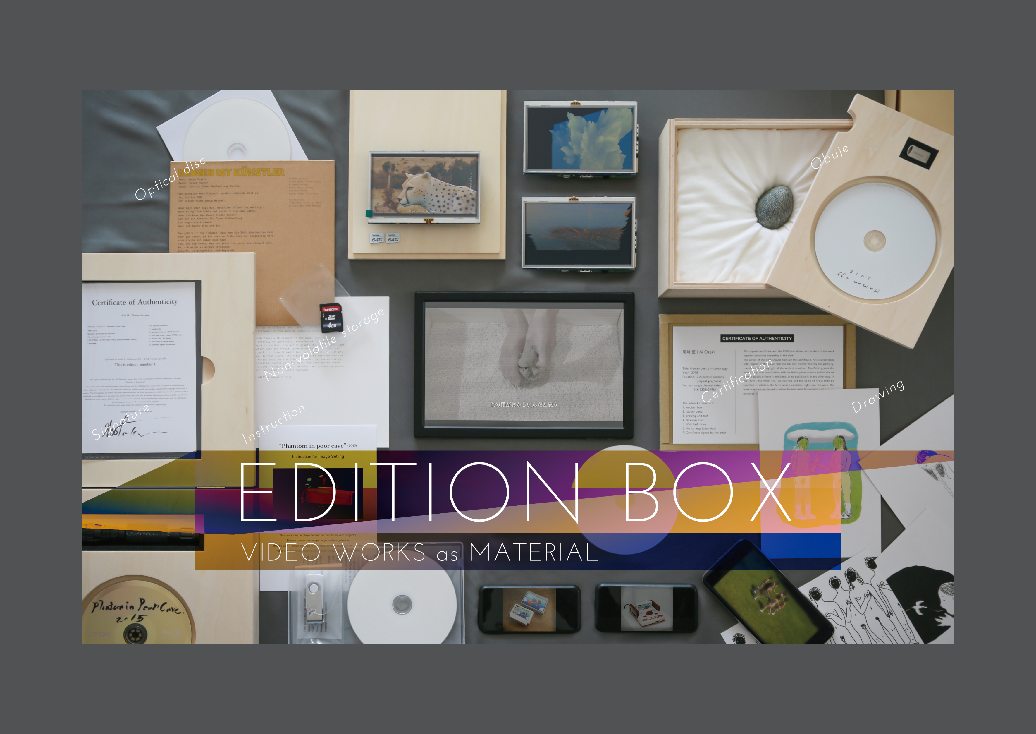 Edition box -Video Works as Material