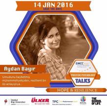 Aydan Bayır Uzman Pozitif Psikolog Positive Psychology Talks - EMMC Turkey