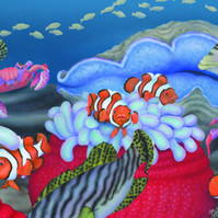 Sweetlips, Clowns and Crabs