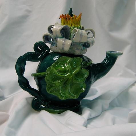 Waterlily teapot#2