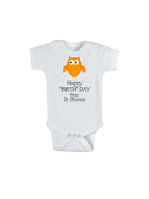 "Happy ""Birth"" Day! Onesie"