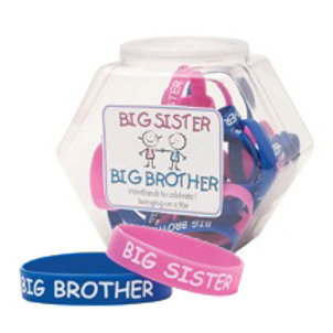 Big Sister/Big brother Rubber Bracelets