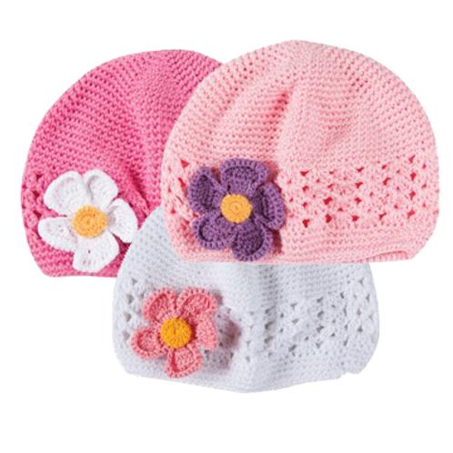 Crochet Hat Set (light) #H103