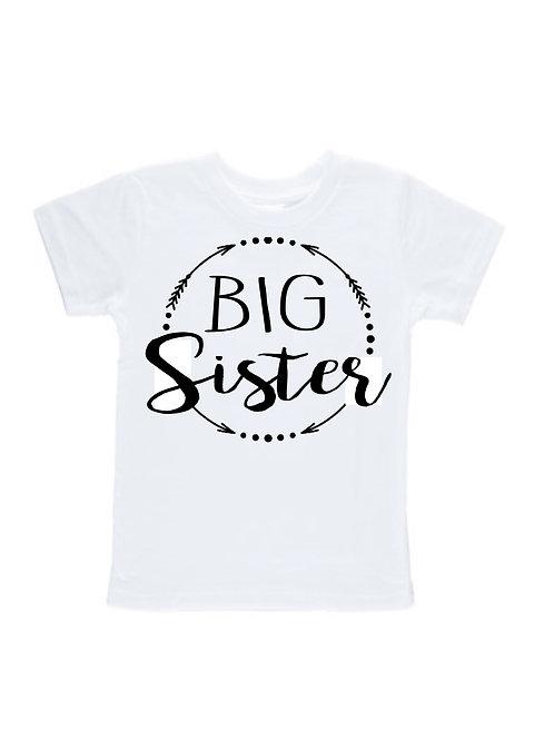 Big Sister Circle T-shirt #372