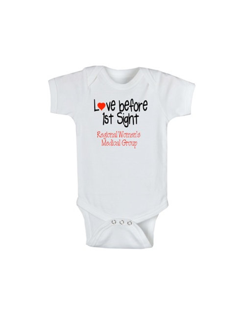 Love at 1st sight (Doctor's Name) Onesie