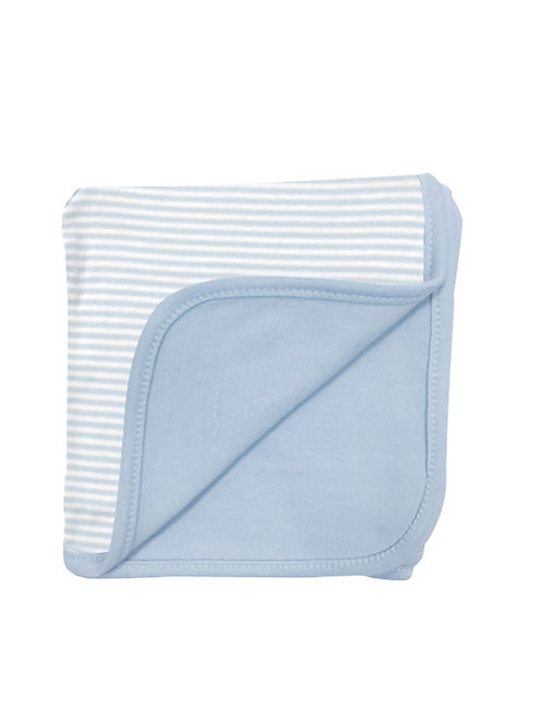 Blue Reversible 2 Ply Blanket