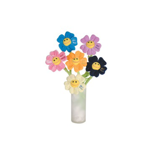 "Get Well Flowers 18"" 6 PIece Set #2330"