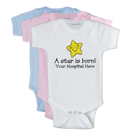 A star is born! (Doctor's Name) Onesie