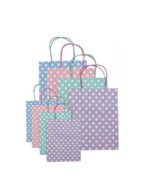 Pretty Polka Dot Gift Bags Small #8516SM
