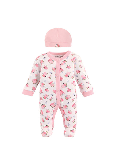 Preemie Play & Cap Set Girl #69049