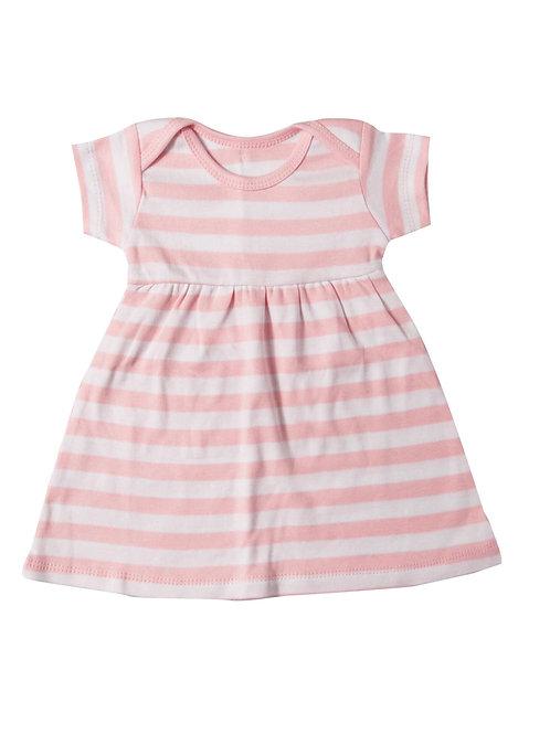 Preemie Gown & Cap Set Pink #886