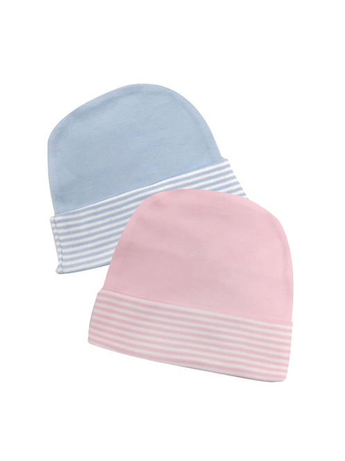 Stripe Brim Caps #2BC  #3PC