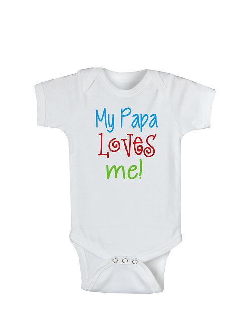 Papa Loves Me #WO349