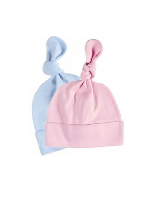 Knotted Cotton Baby Cap
