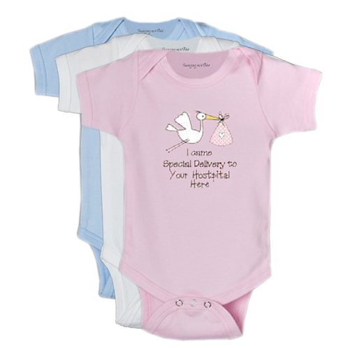 I came special delivery (Doctor's Name) Onesie