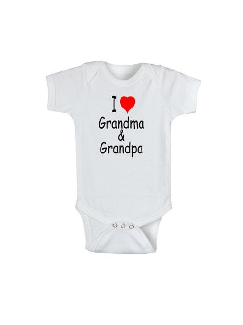 I (heart) Grandma & Grandpa #WO140