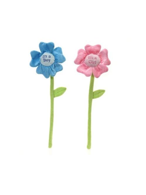 "It's a boy/girl Flower 6 Piece Set 18"" #133"
