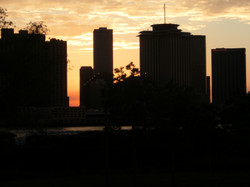 New Orleans from Compass Point