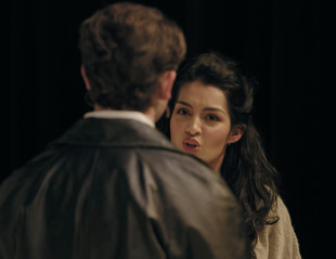 Yasmin Pascall as Claire in Neaptide by Sarah Daniels. Directed by Ticket Knowlton