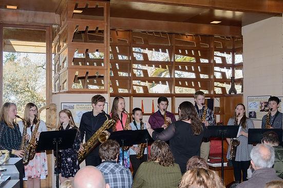 Saxophone Recital Tessa Rae Music - Oregon