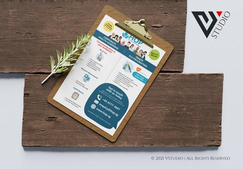 Health Outreach Programme Flyer
