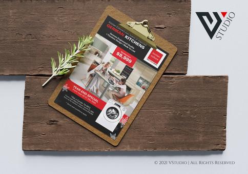 Kitchen Culture Newspaper AD