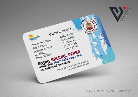 Civil Servant Club resort key card