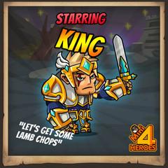 King   Mini 4 Heroes