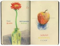 Flower & Apple