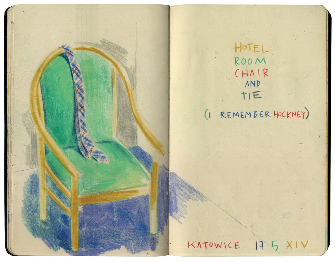 I remember Hockney