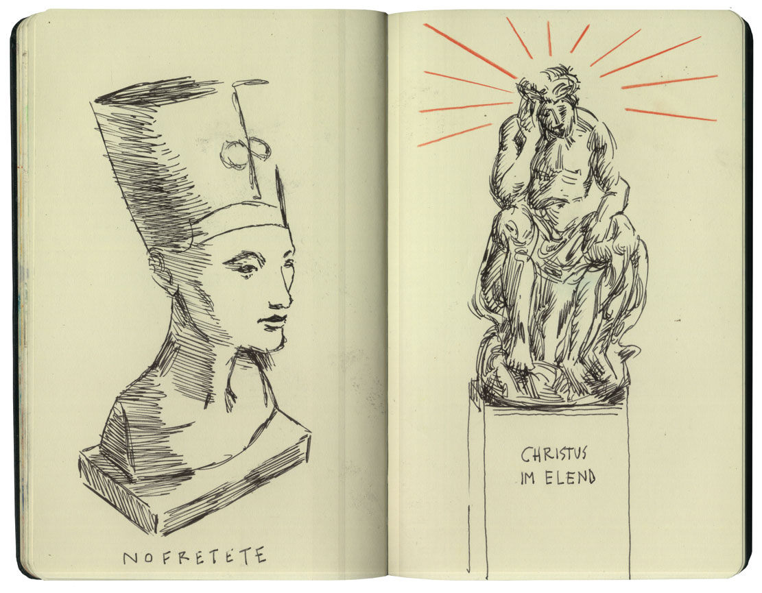 Nefertiti & Christ