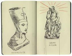 Nefertiti & Christ