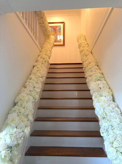 Staircase Floral Runner