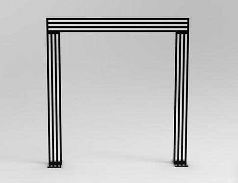 Black Linear Arch
