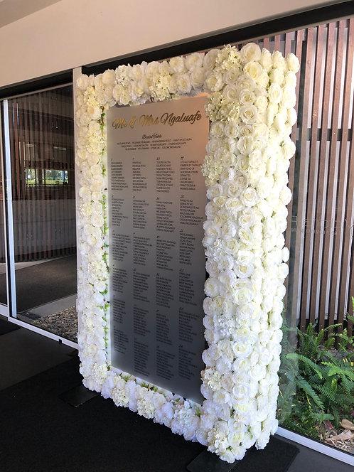 Mirrored Flower Panel
