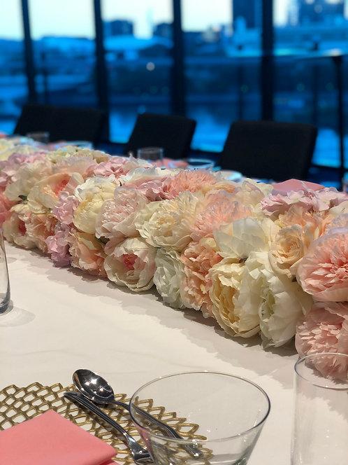 Blush Floral Runner