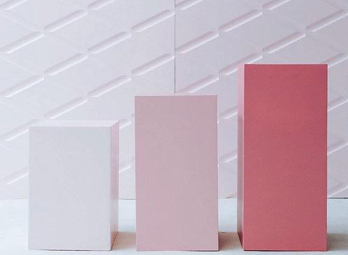 Pink Plinths