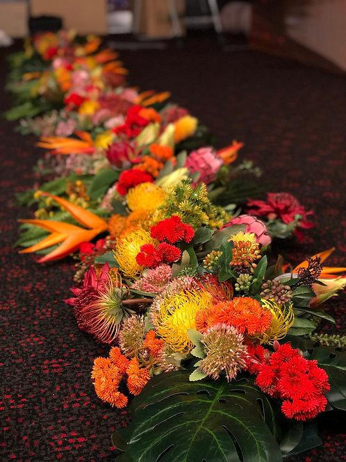 Native Floral Runner