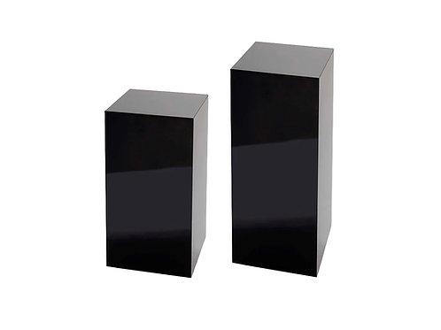 Black Plinths