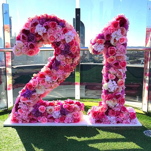 Floral Numbers