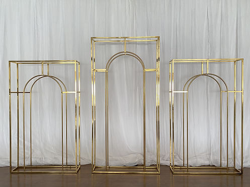 Gloss Gold Wire Arch