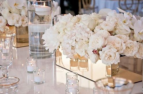 Ivory Trough Vase
