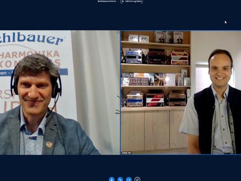 Interview mit Johannes Petz (Direktor Michlbauer Harmonikaschule)