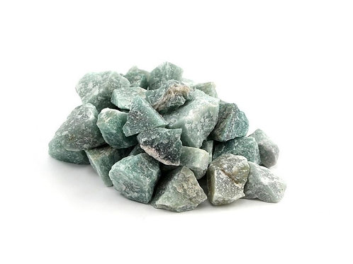 Aventurin Rohsteine zur Wasseraufbereitung, 100 g