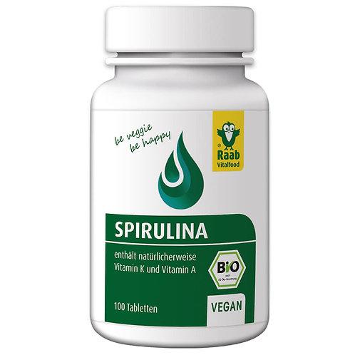 Bio Spirulina Tabletten, 40 g