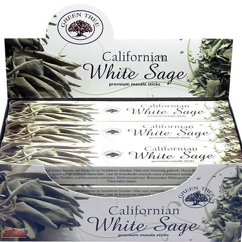 Green Tree White Sage