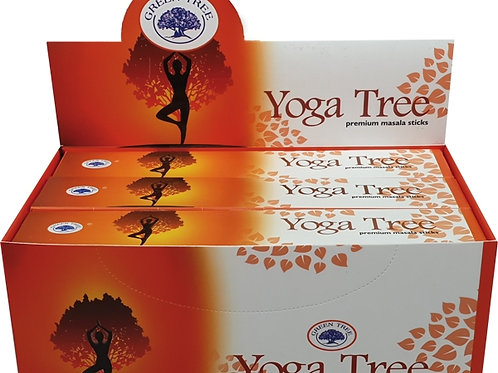 Green Tree Yoga Tree
