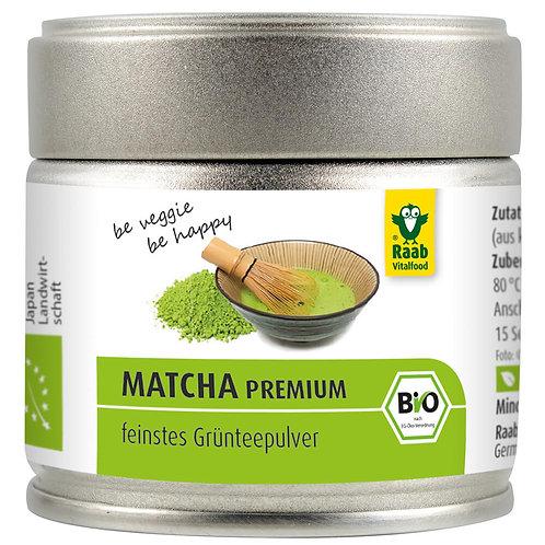 Bio Matcha Premium Grüntee Pulver