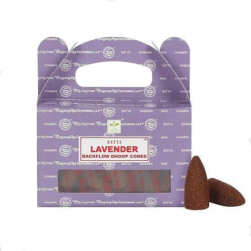 Lavendel Rückfluss Weihrauch Kegel