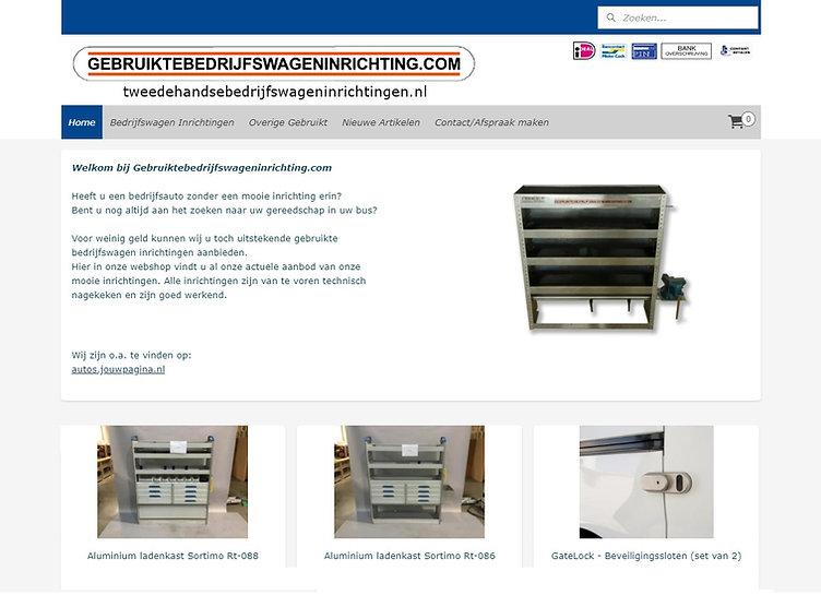 BIW gebruiktebedrijfswagens website